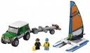 KLOCKI LEGO City 60149 4x4 Terenówka z Katamaranem