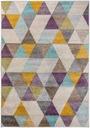 Dywan 180x270  kolor nowoczesny trójkąty