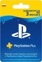Subskrypcja PlayStation Plus 3 Miesiace