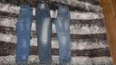 Zestaw spodni jeansowych 110