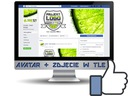 FACEBOOK FANPAGE grafika projekt avatar+ zdj w tle