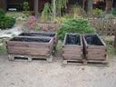Donice drewniane z kantówki 50x120cm WYPRZEDAŻ!