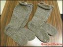 Ancient Coptic Long Socks - Coptic stitch c. IV AD