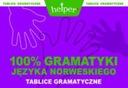 100% Gramatyki j. norweskiego Tablice KRAM