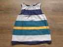 Zara stylowa sukienka w paski 12-18M_ 82 cm