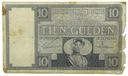 31.Holandia, 10 Guldenów 1930 rzadki, St.4-