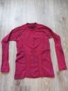 Termoaktywna , ciepła bluza dziewczęca 128-134