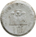 11.GRUNBERG (ZIELONA GÓRA)-1 MARKA-1922-PORCELANA