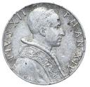 Watykan - moneta - 5 Lir 1952