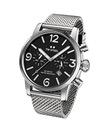TW Steel Maverick Unisex Quartz Watch with Black D