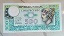 Włochy, 500 lirów z 1976 r.
