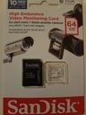 SanDisk HIGH ENDURANCE 64GB VIDEO MONITORING CARD