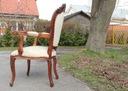 Koncówka SERI I- Wyprzedaż ! FOTEL krzesło mahoń