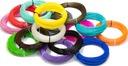 Filament PLA ABS 1,75 100g MIX KOLORÓW DŁUGOPIS 3D