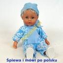 RÓŻOWA lalka BOBAS mowi ŚPIEWA zamyka oczy PREZENT