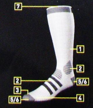 76b0f58a0be80 1 - siateczka zapewniająca że stopy są suche i dobrze wentylowane,