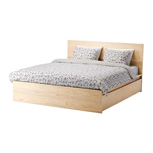 Ikea Rama łóżka Malm 160x200 Stelaż 4 Szuflady