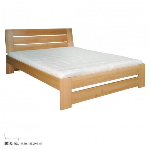 łóżko Drewniane Bukowe Lk 192 160x200