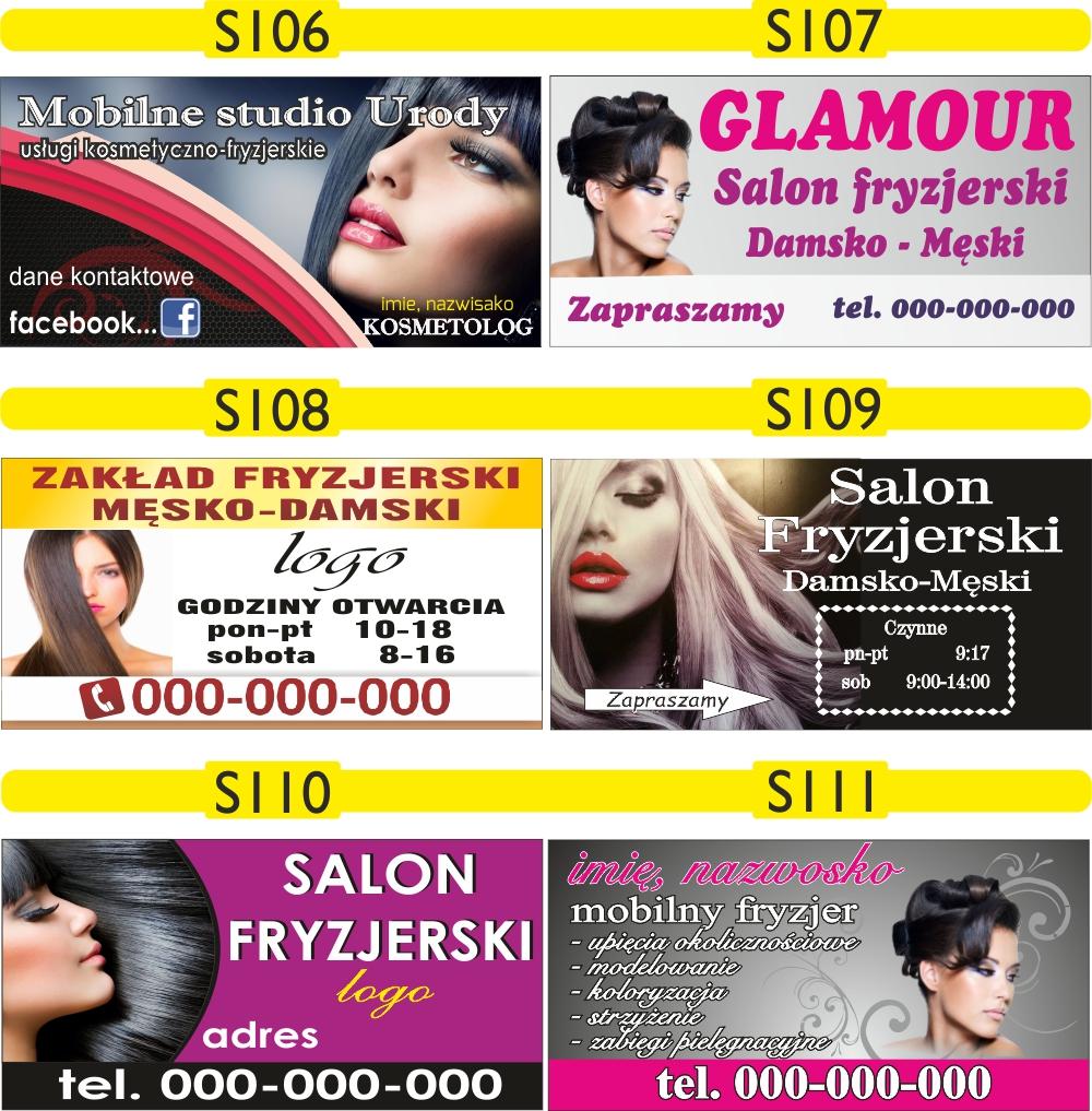 Baner Reklama Salon Fryzjerski Fryzjer Reklama 7338200011 Allegropl