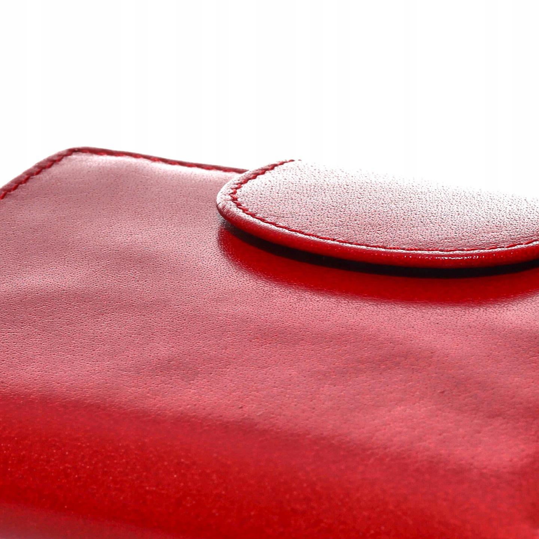 e69e3f52dcb72 Portfel damski mały czerwony HANDMADE Belveder 7655556198 - Allegro.pl