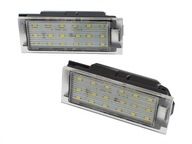 PODŚWIETLENIE TABLICY Светодиодные лампы Renault Megane II 2 III