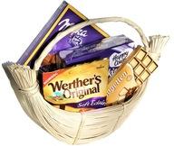 Kosz prezentowy koszyk upominkowy słodyczy Prezent