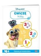 Disney uczy Bingo i Rolly w akcji Ćwiczę liczby Praca zbiorowa