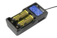 ŁADOWARKA LCD Li-ion 18650 14500 26650 XTAR VC2
