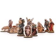 Figurki do Szopki 11szt bożonarodzeniowa ZESTAW