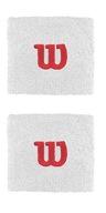 Frotki WILSON Wristband białe - 2 pack