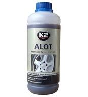 K2 ALOT 1L Koncentrat do mycia FELG ALU, STALOWYCH