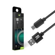 Kabel Ładowarka GC Nylon Typ USB-C Quick Charge 1m