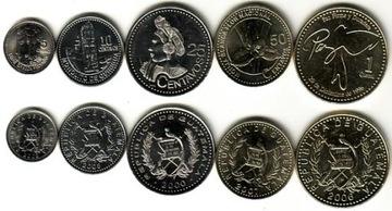 GWAEMALA набор 5 монет доставка товаров из Польши и Allegro на русском