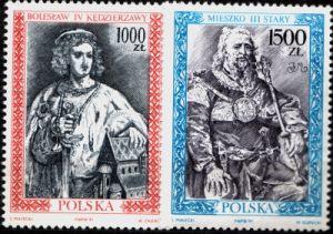 Fi 3178-79 ** - Счет королей и князей польских доставка товаров из Польши и Allegro на русском