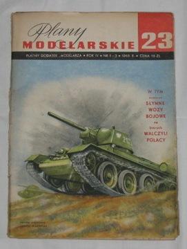 PM nr 23 T-34, KW-1, IS-1, IS-2, T-70, SU-76, U-85 доставка товаров из Польши и Allegro на русском