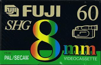 КАССЕТА ДЛЯ ВИДЕОКАМЕР VIDEO FUJI 8MM SHG 60 VIDEO8 60МИН доставка товаров из Польши и Allegro на русском