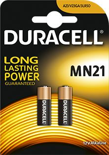 Батарейка A23 Duracell MN21 - блистере 2шт доставка товаров из Польши и Allegro на русском