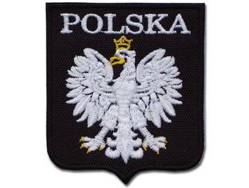 (Стилизованный Герб Польский - ПОЛЬША черный/белый) доставка товаров из Польши и Allegro на русском
