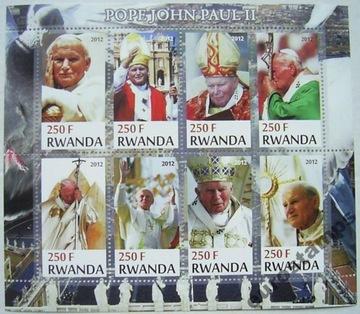 Папа римский ИОАНН ПАВЕЛ II 2012 arkusik чистый (**) #183 доставка товаров из Польши и Allegro на русском
