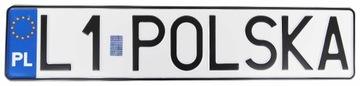 ПОЛЬША Доска для рамки регистрации,голограмма доставка товаров из Польши и Allegro на русском