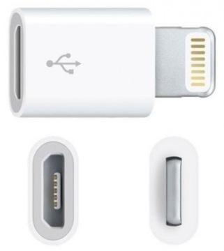 Переход адаптер micro USB-lightning iphone(4117) доставка товаров из Польши и Allegro на русском