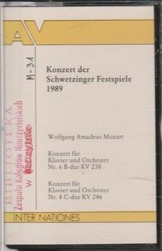 (KONZERT DER SCHWETZINGER ФЕСТИВАЛЕМ 1989 - Моцарт) доставка товаров из Польши и Allegro на русском
