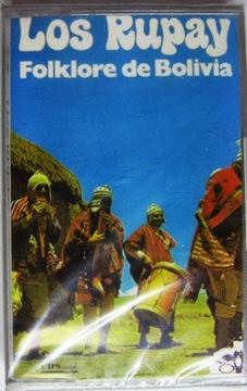 Folklore De BOLIVIA:Лос Rupay [картридж] Пленка доставка товаров из Польши и Allegro на русском