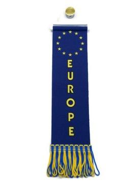 ВЫМПЕЛ флаг EUROPE TIR BUS доставка товаров из Польши и Allegro на русском