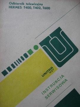 Телевизор HERMES Руководство по обслуживанию + Схема доставка товаров из Польши и Allegro на русском
