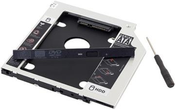 КОРПУС ОТСЕК CD-DVD SATA 9,5 мм SSD HDD доставка товаров из Польши и Allegro на русском