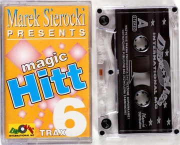 VA - Magic Hitt 6 - Marek Sierocki Presents MC ОЧ доставка товаров из Польши и Allegro на русском