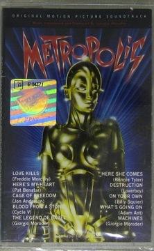 METROPOLIS (Mercury,Jon Anderson) OST [MC] Folia доставка товаров из Польши и Allegro на русском