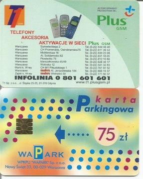 karta parkomatowa Plus доставка товаров из Польши и Allegro на русском