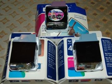 3x HP Картриджи пустые - 2x 51649ae + 1x C1816A - цвет доставка товаров из Польши и Allegro на русском